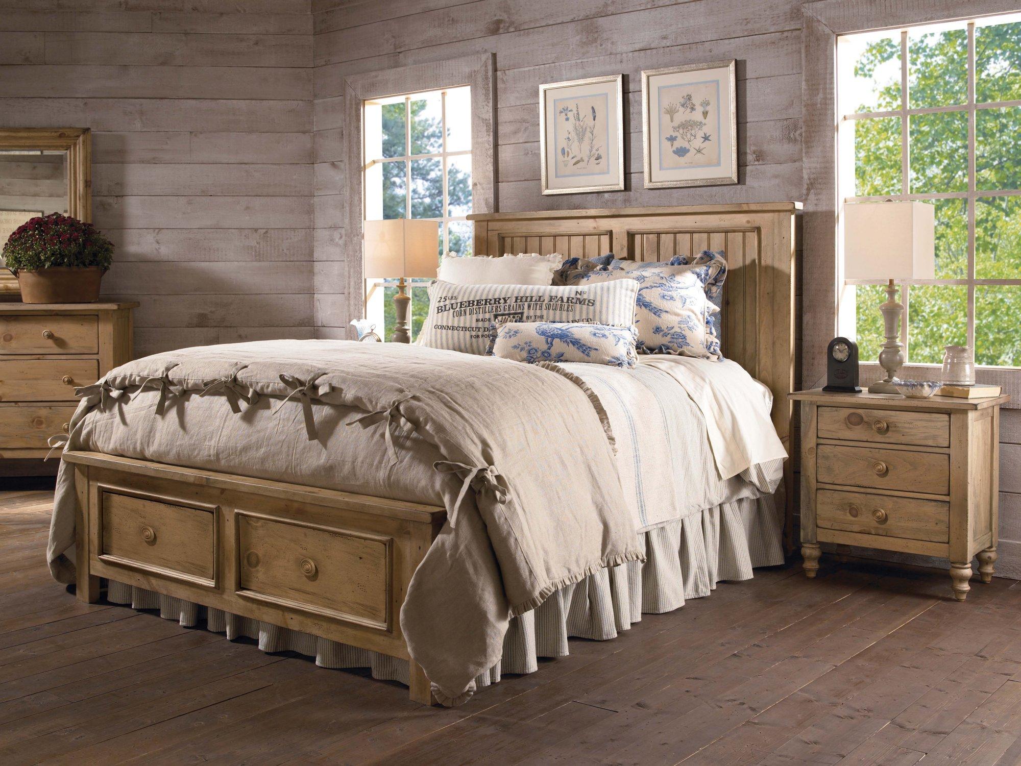 Kincaid Homecoming Vintage Pine Bedroom Collection