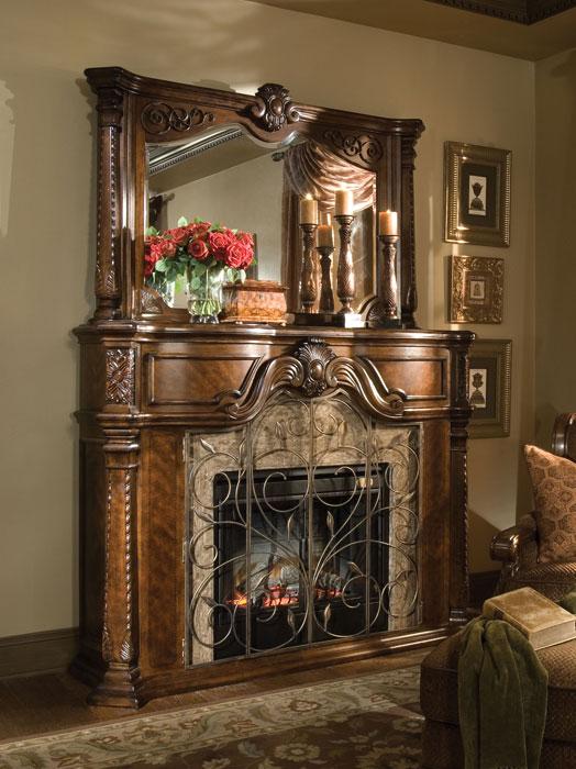 Aico windsor court fireplace for Aico windsor court living room