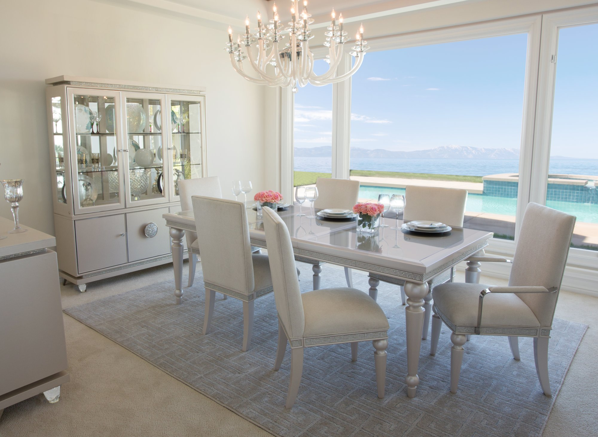 Aico Glimmering Heights Dining Collection