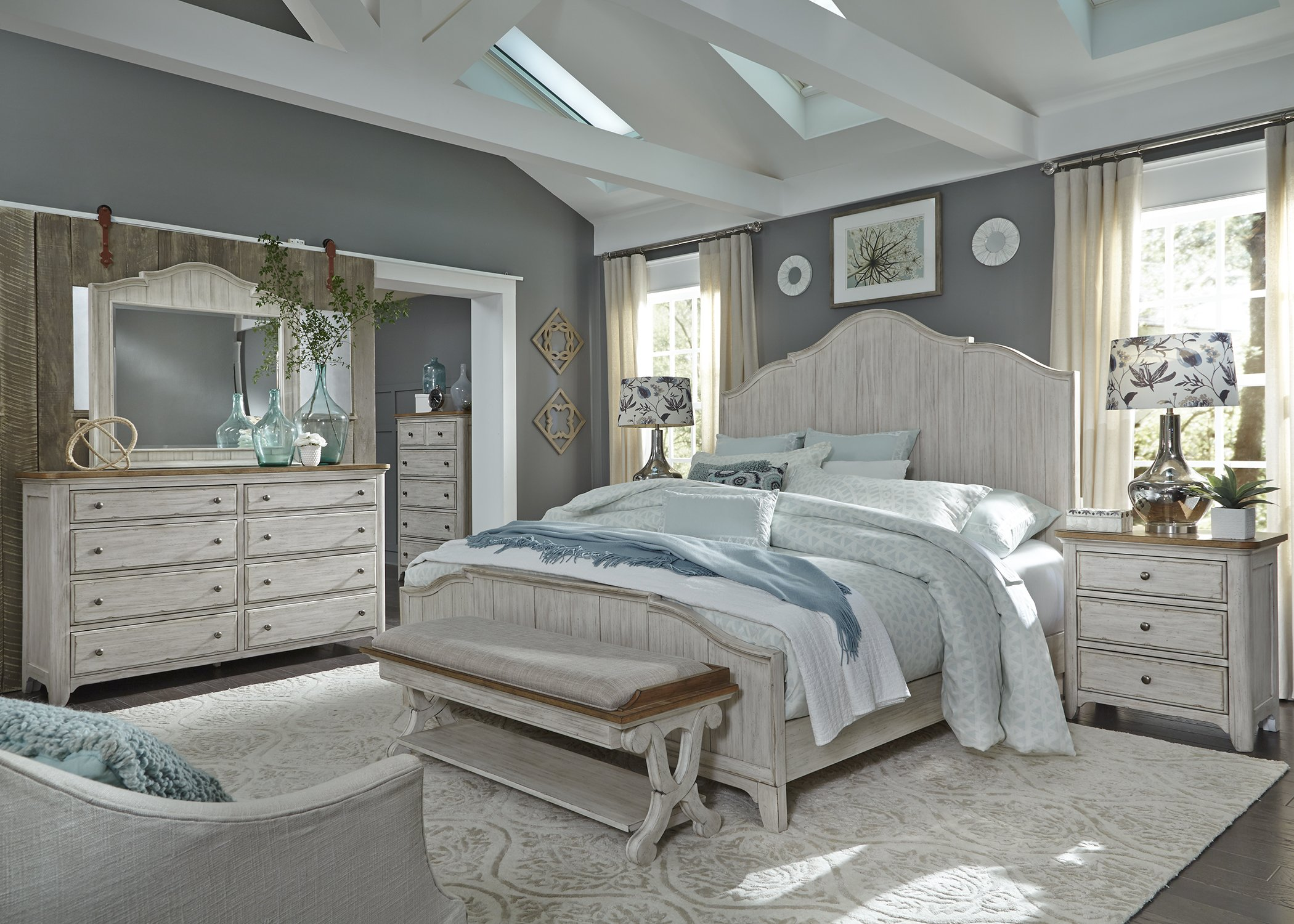 Liberty Farmhouse Reimagined Bedroom Collection