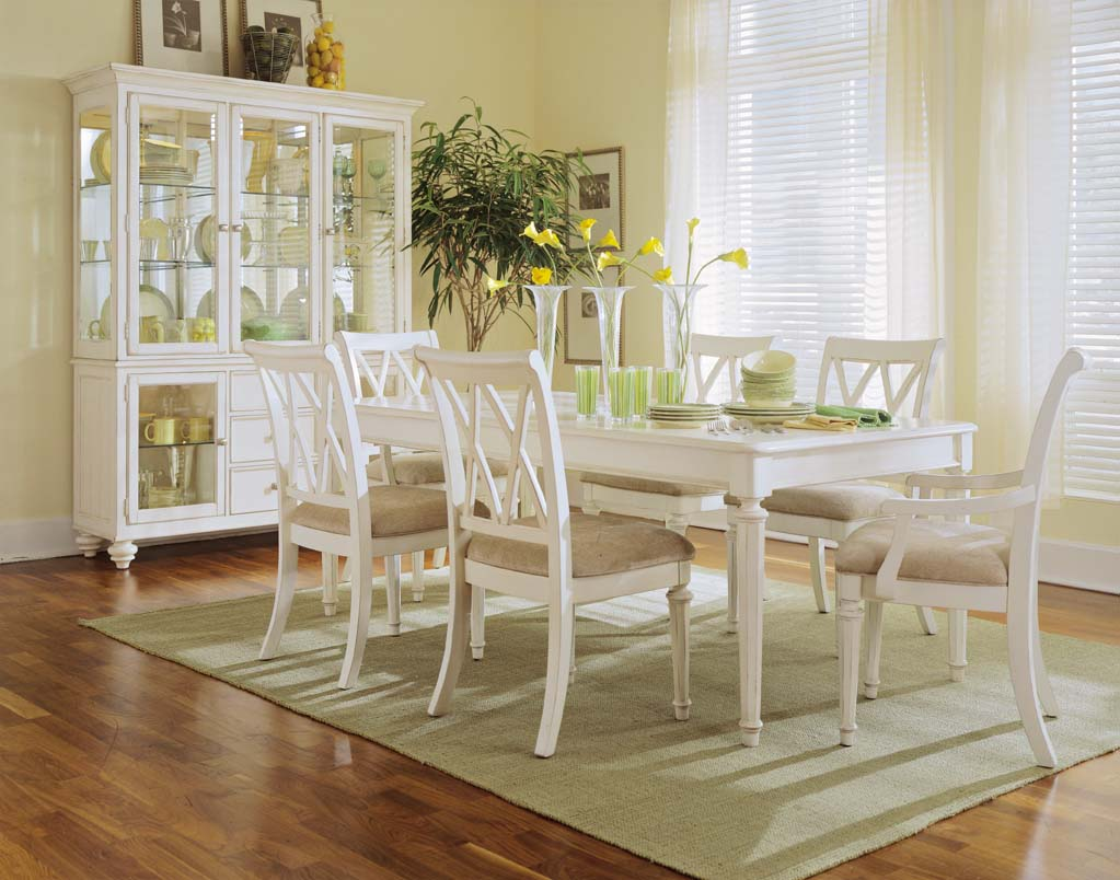 Camden-Antique White Dining Room by American Drew