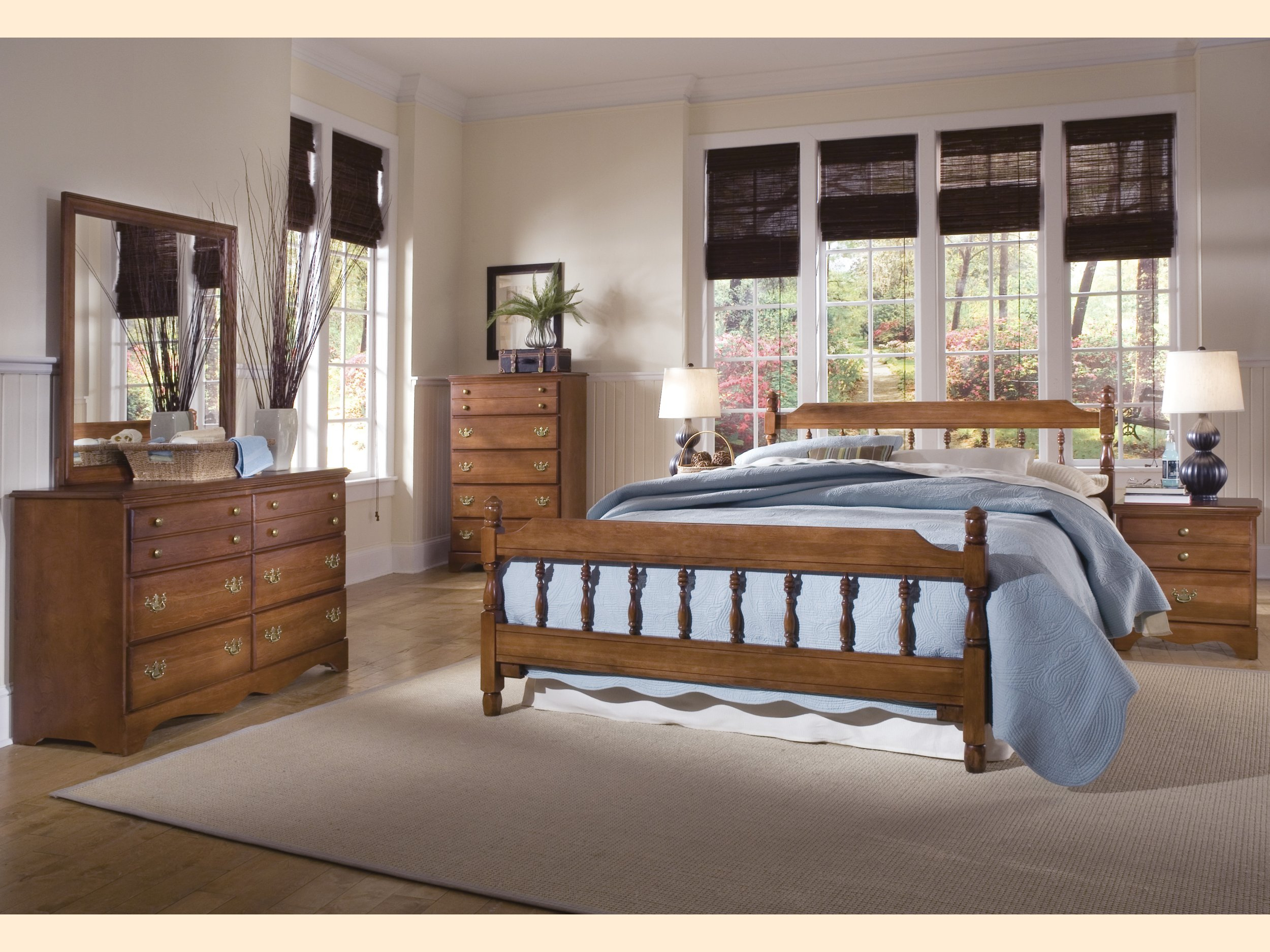 Carolina Common Sense Cherry Furniture Collection