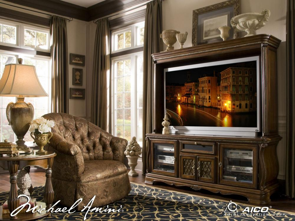 The Sovereign Entertainment Wall and Fireplace