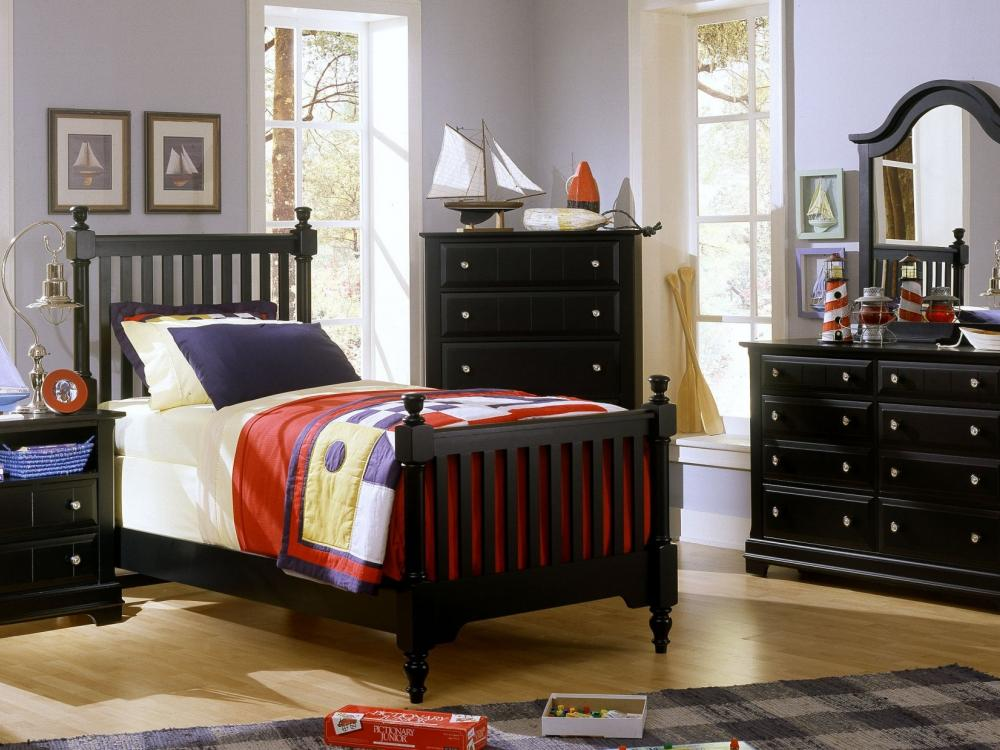 Cobblestone Black  Bedroom