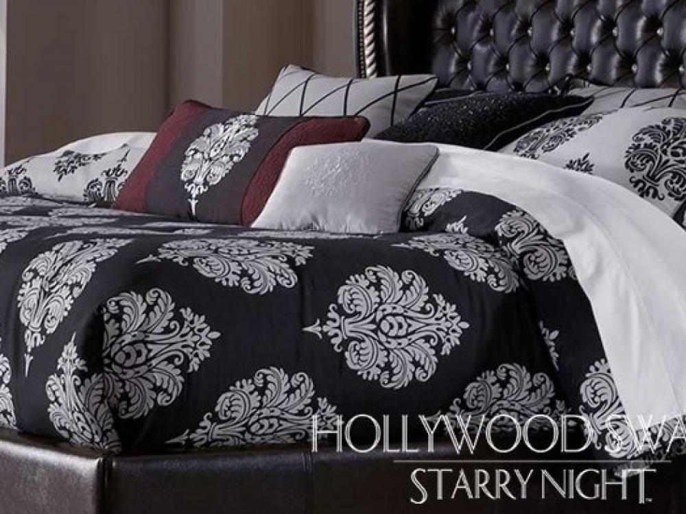 Hollywood Swank Bedroom-Starry Night