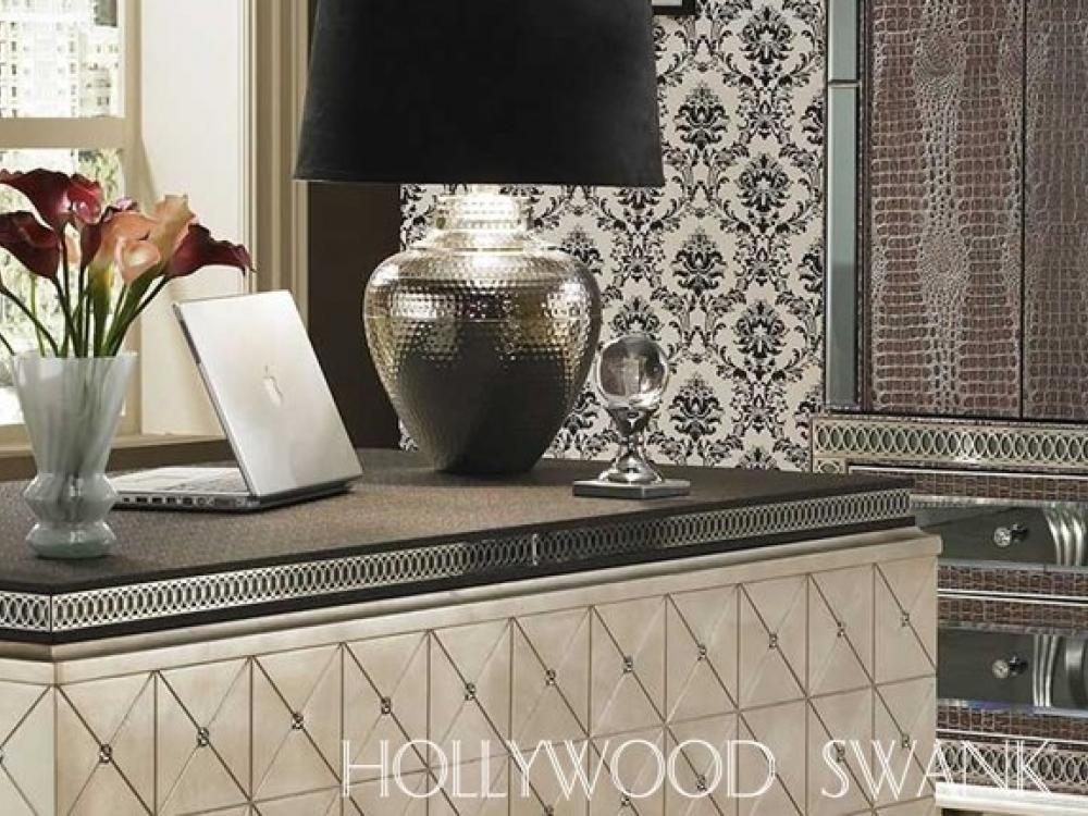 Hollywood Swank Entertainment & Home Office- Amazing Gator
