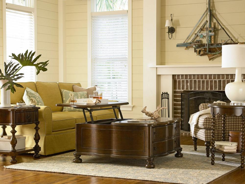 Paula Deen River House-River Bank Occasional Tables