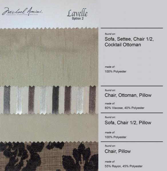 Lavelle White Upholstery Image 3
