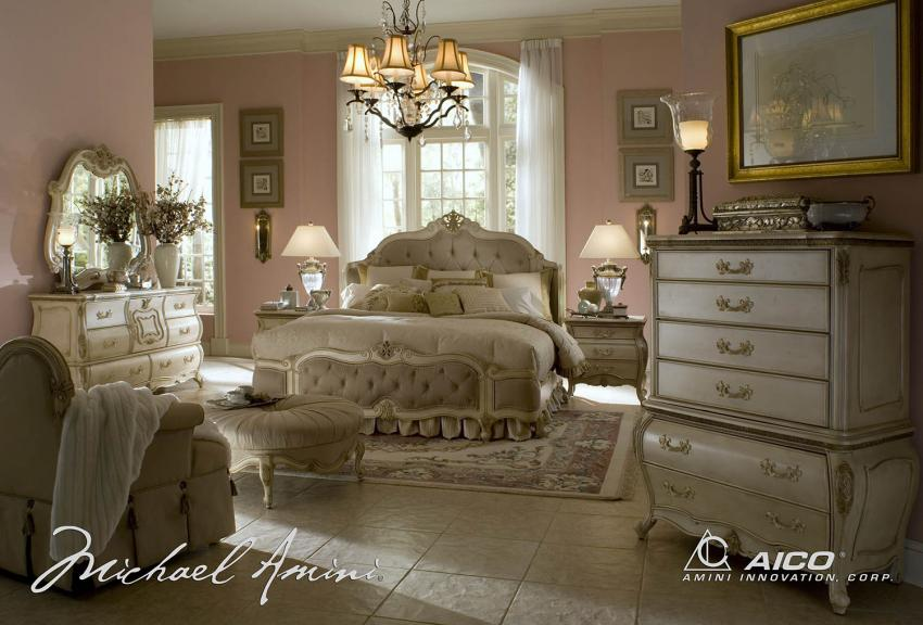 Lavelle White Bedroom Image 1