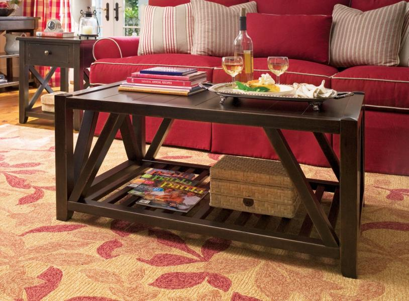 Paula Deen Home Tobacco Occasional Tables By Universal