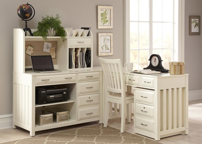 Hampton Bay Office-White Image 1