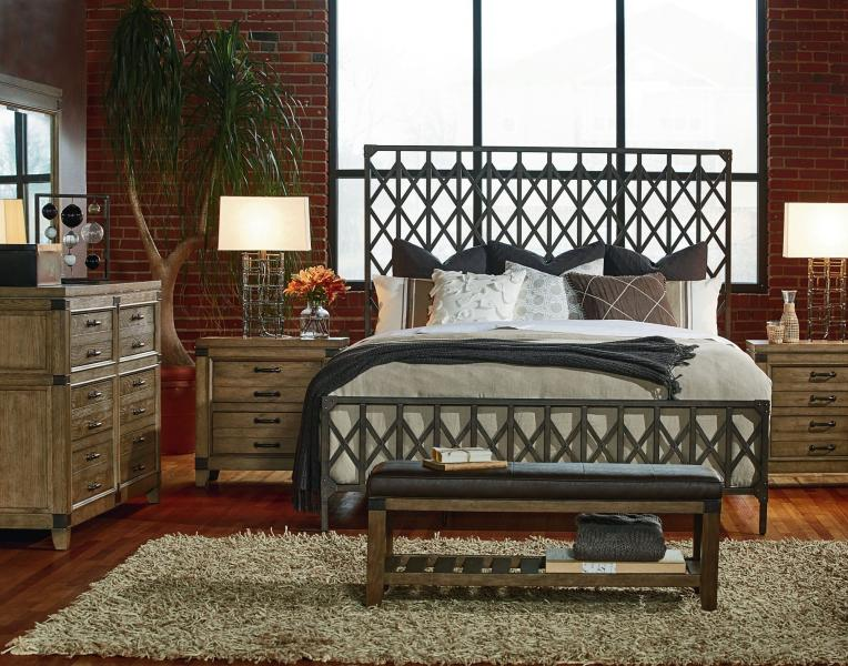 Metalworks Bedroom Image 1
