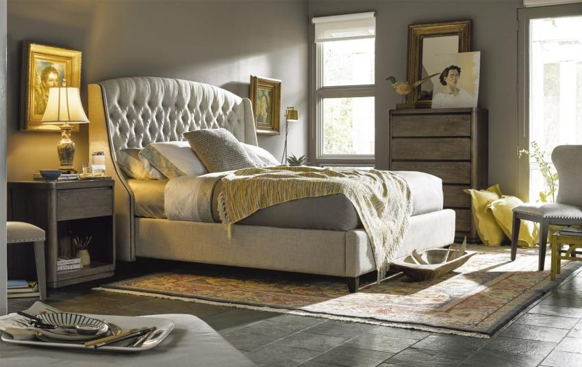 Curated Graphite Bedroom Image 1