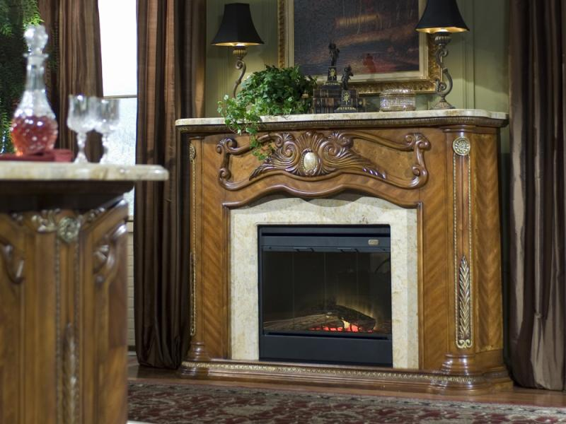 Cortina Fireplace Image 1