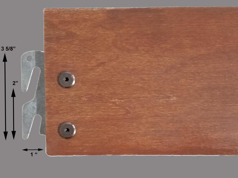 Wooden Replacement Bedrails Image 2