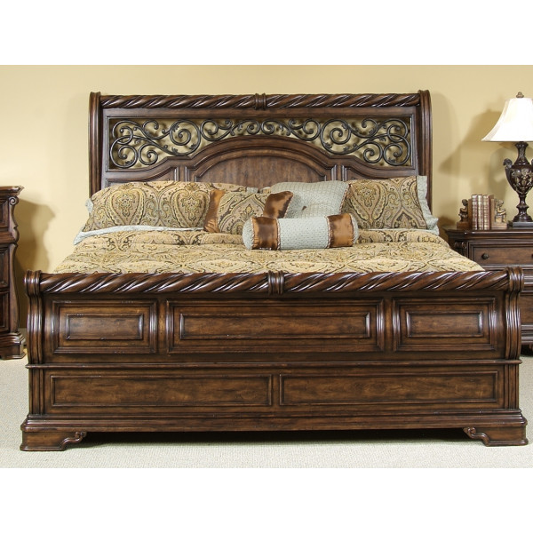That Furniture Place: Liberty Arbor Place Queen Sleigh Bed 575-BR-SET81(BR21F/H/90