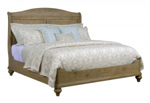 King Serenity Sleigh Bed