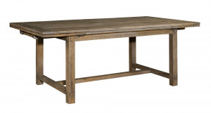 """Winston Refectory Table W/ Two 18"""" Leaves"""