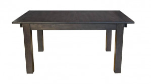 Leg Dining Table w/ 2 18 Inch Leaves