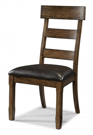 Plank Upholstered Side Chair