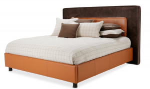 King Upholstered Tufted Bed