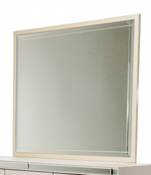 Rectangular Dresser Mirror-Pearl