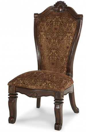 Fabric Back Side Chair