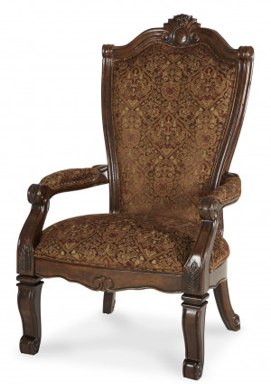 Fabric Back Arm Chair