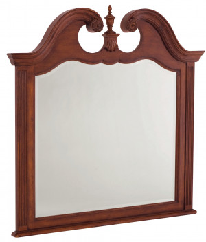 Landscape Mirror with Finial