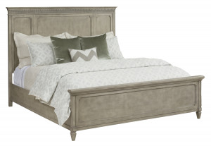Queen Katrine Panel Bed