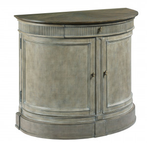 Demilune Bachelor Chest