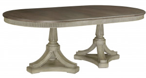 Friedrick Dining Table w/ 2 20 Inch Leaves