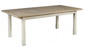 Boathouse Dining Table w/ 2 18 Inch Leaves