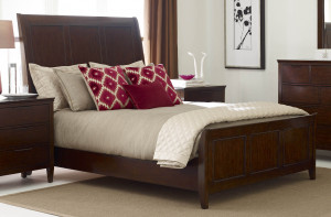 King Caris Sleigh Bed