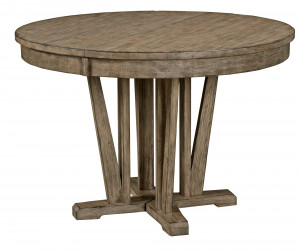 Round Dining Table w/ one 20 Inch Leaf