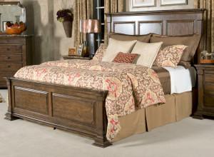 Queen Monteri Panel Bed
