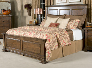 Cal-King Monteri Panel Bed