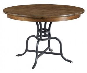 "44"" Round Table w/ Metal Base"