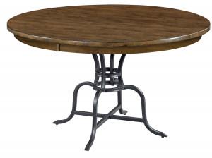 "54"" Round Table w/ Metal Base"