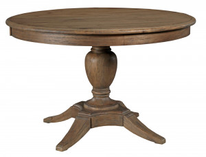 "Milford Round Dining Table w/ One 18"" Leaf"