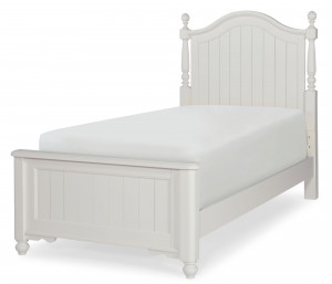 Twin Low Poster Bed