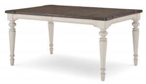 """Leg Table w/ One 18"""" Leaf"""