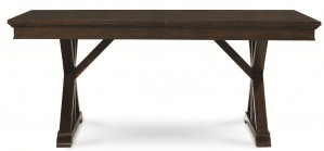 "Trestle Table w/ One 20"" Leaf"