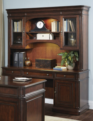 Jr. Executive Credenza w/ Hutch