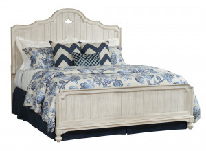 King Laurel Panel Bed