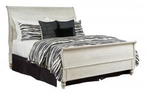 King Hanover Sleigh Bed