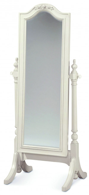 Cheval Storage Floor Mirror