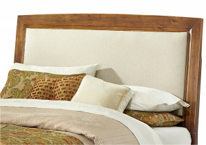 King Upholstered Headboard and Frame