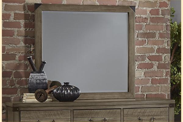 VB Artisan & Post  Sedgwick-Earl Grey Landscape Mirror
