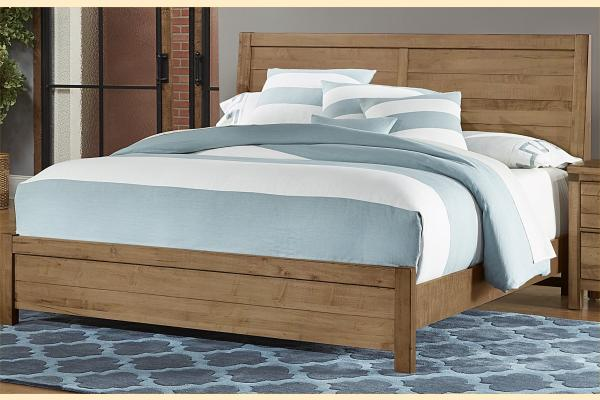 VB Artisan & Post  Sedgwick-Natural Maple Queen Plank Bed